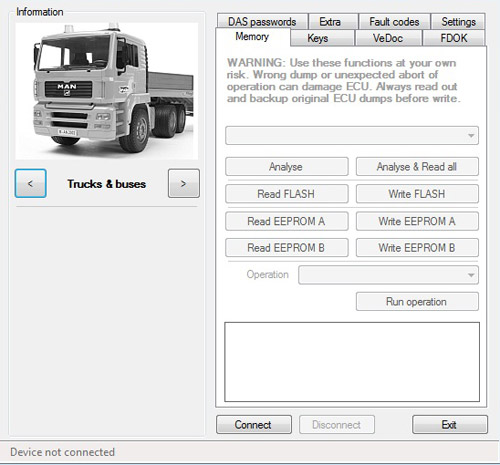 mb truck explorer key programming 1